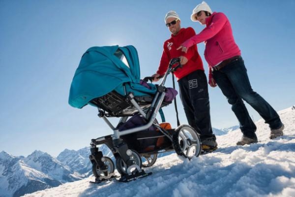 Какие коляски лучше для зимы